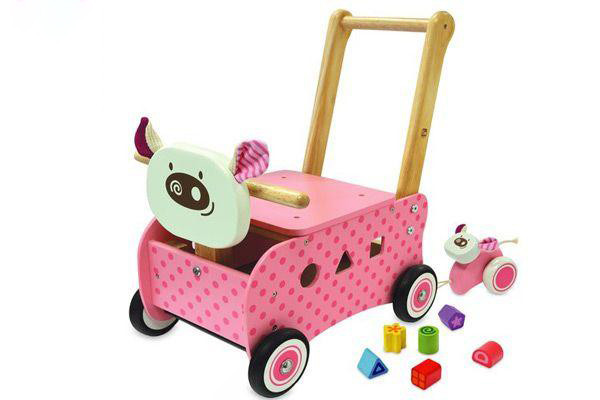 I'm Toy loopwagen Piggy.